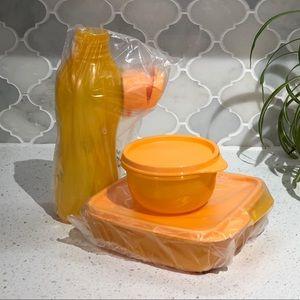 NWT Tupperware Lunch-It kit in Mango